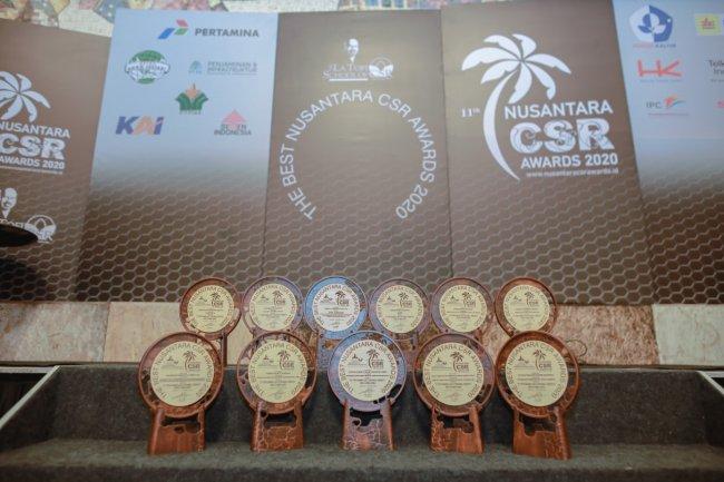 Pertamina Geothermal Energy Raih Best Of The Best dan 11 Penghargaan Nusantara CSR Awards 2020