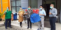 Ikut  Perangi Covid-19, FSPPB Serahkan Alkes ke RSU Kabupaten Tangerang