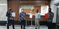 Serikat Pekerja Pertamina Sambangi MK Ajukan Uji Materi UU BUMN