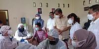 Rayakan HUT RI Ke-76 Gerindra Tangsel Laksanakan Vaksinasi Massal