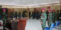 Komandan Pasmar 3 Pimpin Upacara Penutupan Latihan Satuan Lanjutan II Aspek Darat