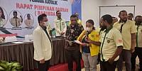 Putra Papua, Gusma Deklarasi Maju sebagai Caketum Pemuda Katolik