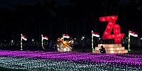 Monas Festival of Lights, PLN Disjaya Jamin Pasokan Listrik