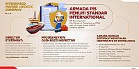 Dapatkan Certificate of Compliance (COC) dari US Coast Guard (USCG) Amerika Serikat, Armada PIS Penuhi Standar Internasional