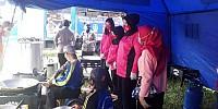 Erupsi Semeru, Bright Gas Hadir di Dapur Umum Dinsos Lumajang